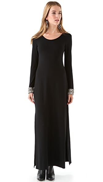 Candela Crawford Maxi Dress with High Slit