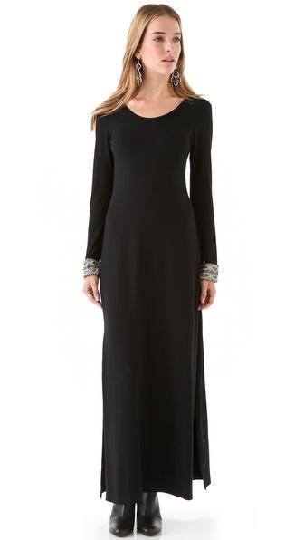 Candela Crawford Maxi Dress with High Slit