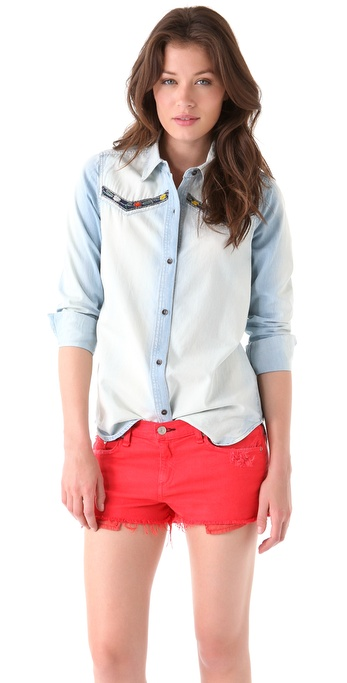 Candela Elizabeth Denim Shirt