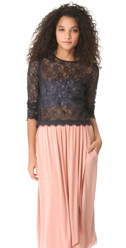 Candela Valerie Lace Top