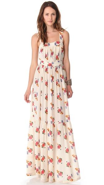 Candela Floral Maxi Dress