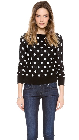 Cardigan Dot Marc Reversible Sweater