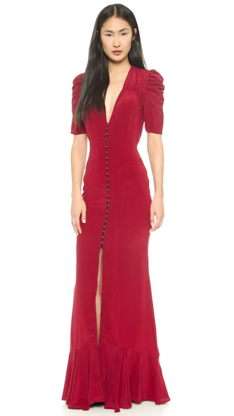 Carmella Clara Maxi Dress with Shirring