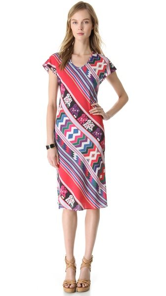 Carolina K V Neck Dress