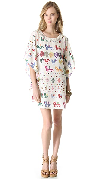 Carolina K Crochet Detailed Dress
