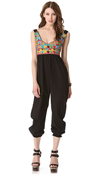 Carolina K Embroidered Jumpsuit
