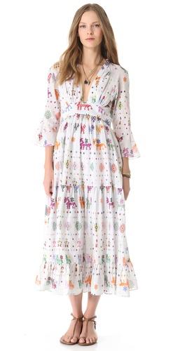 Carolina K Vintage Maxi Dress