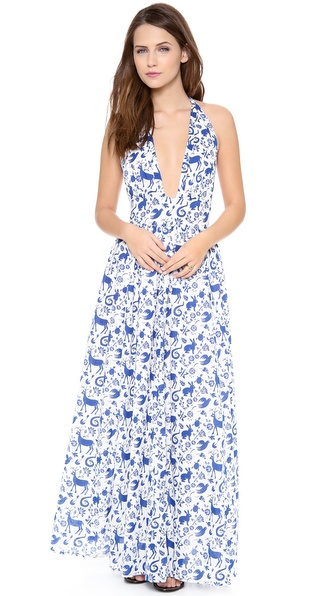 Carolina K Marilyn Halter Dress