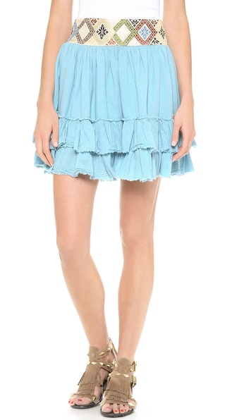 Carolina K Two Ruffle Skirt