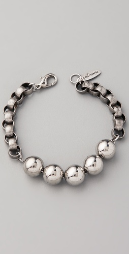 Carol Marie Ball & Chain Bracelet