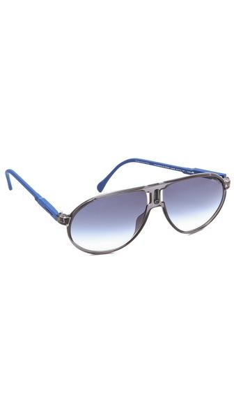 Carrera Champion Aviator Sunglasses with Gradient Lens