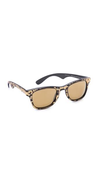 Carrera Carrera By Jimmy Choo Panther Sunglasses - Panther/Brown Gold Mirror at Shopbop / East Dane