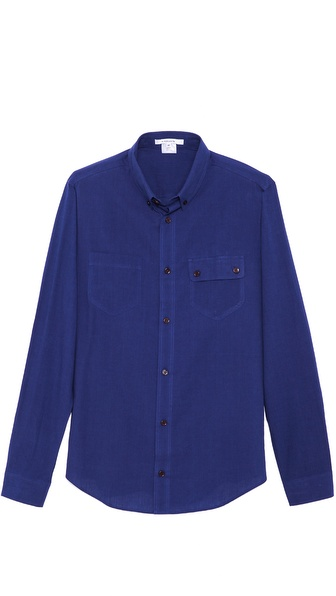Carven Light Denim Sport Shirt