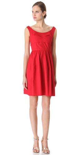 Carven Lantern Skirt Dress