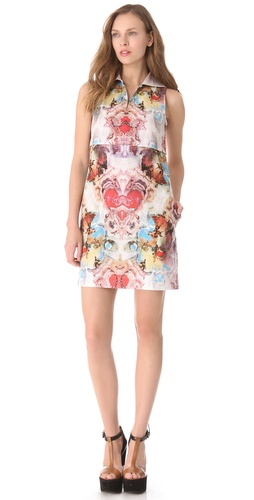 Carven Zip Polo Dress
