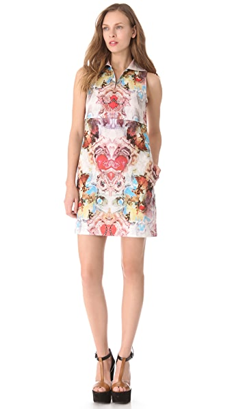 Carven Zip Polo Dress