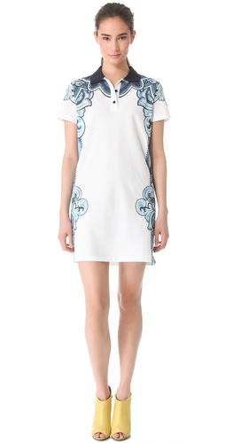 Carven Print Polo Dress
