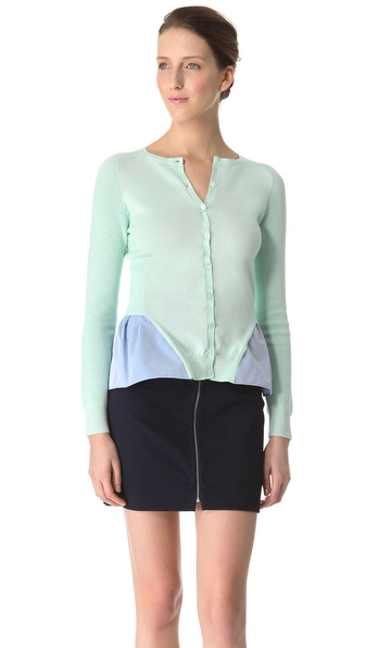 Carven Hanging Shirt Cardigan