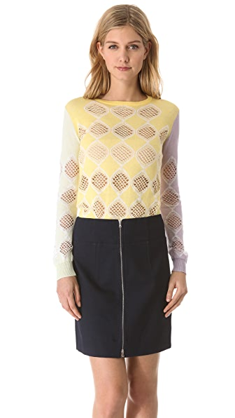 Carven Crew Neck Sweater