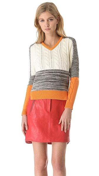 Carven V Neck Sweater