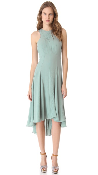 Carven Sleeveless Crepe Dress