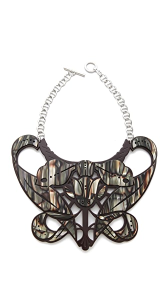 Carven Plexi Bib Necklace