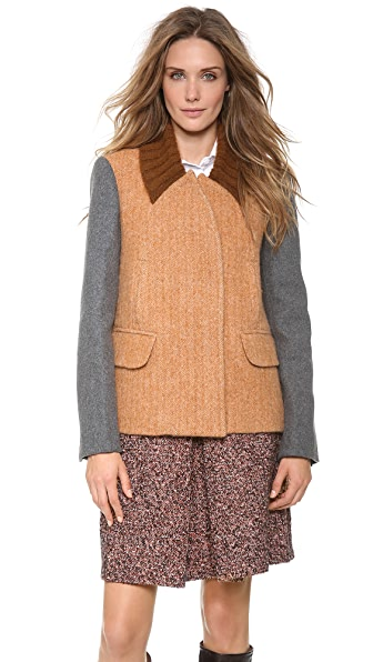 Carven Wool Swing Jacket