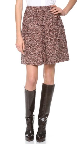 Carven Fancy Drape Skirt