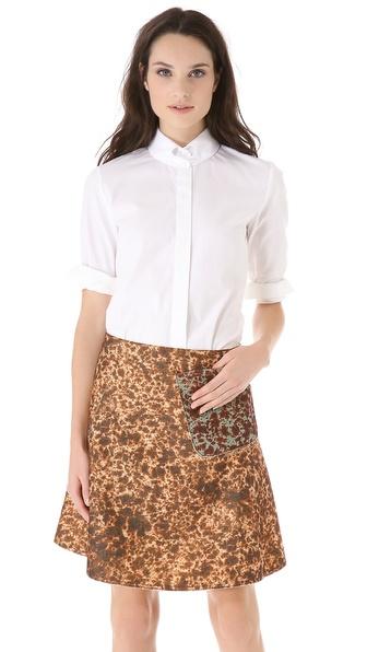 Carven Poplin Shirt