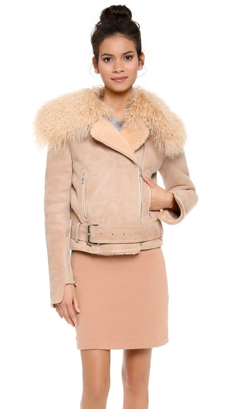 Carven Sheepskin Coat