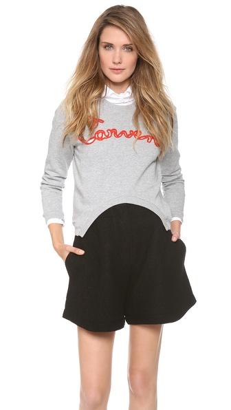 Carven Cutout Sweatshirt