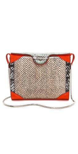 Carven Leather Shoulder Bag at Shopbop / East Dane
