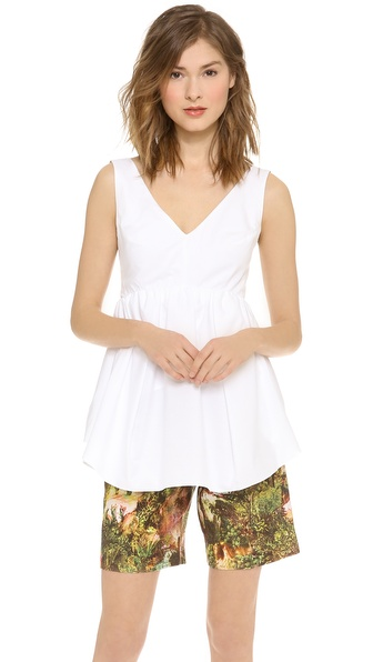 Carven Sleeveless Tank