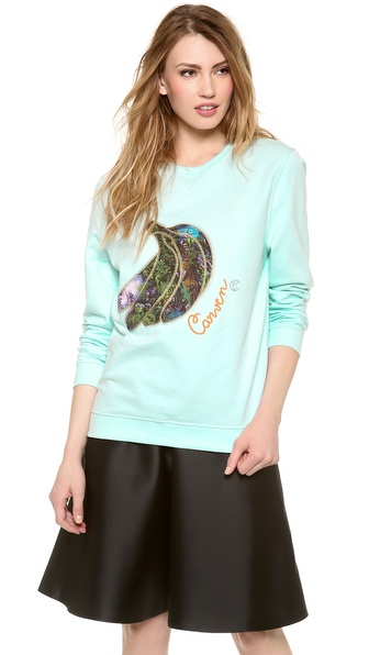 Carven Banana Sweatshirt
