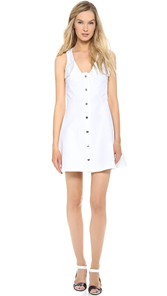 Carven Sleeveless Cotton Dress
