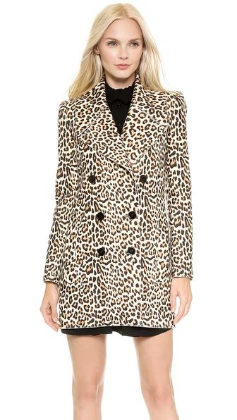 Carven Leopard Coat - Leopard