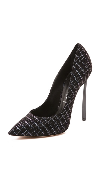 Casadei Black Matrix Pumps