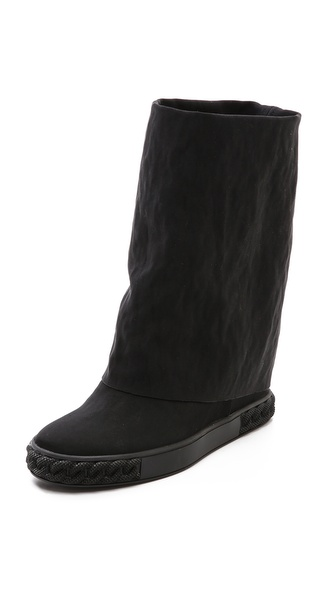 Casadei Black Boots - Black at Shopbop / East Dane