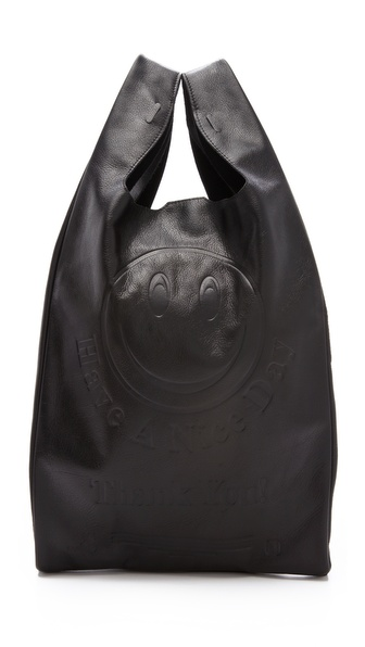Cast of Vices Corner Store Leather Tote