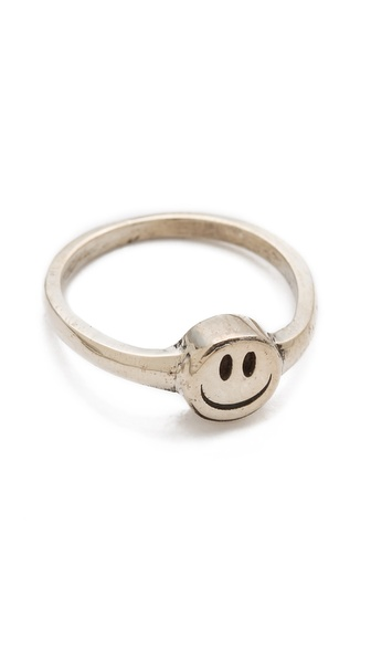 Cast of Vices Happy Face Ring