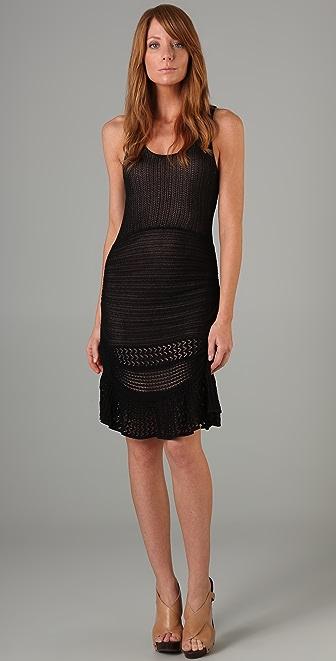 Catherine Malandrino Mix Pointelle Dress