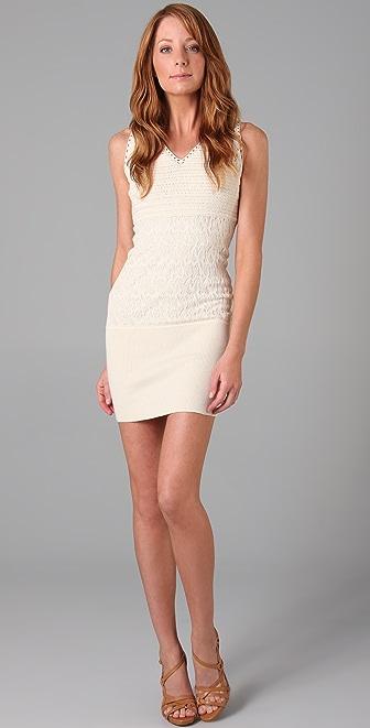 Catherine Malandrino Sleeveless Dress with Back Laces
