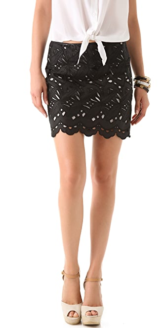 Catherine Malandrino Cutout Skirt