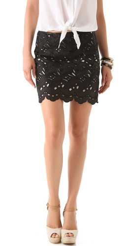 Catherine Malandrino Cutout Skirt