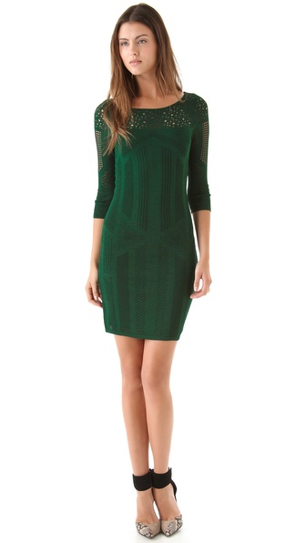 Catherine Malandrino Boatneck Dress