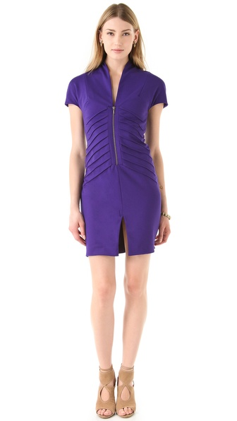 Catherine Malandrino Zip Front Dress