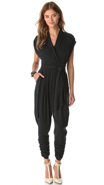 Catherine Malandrino Favorites Cap Sleeve Jumpsuit