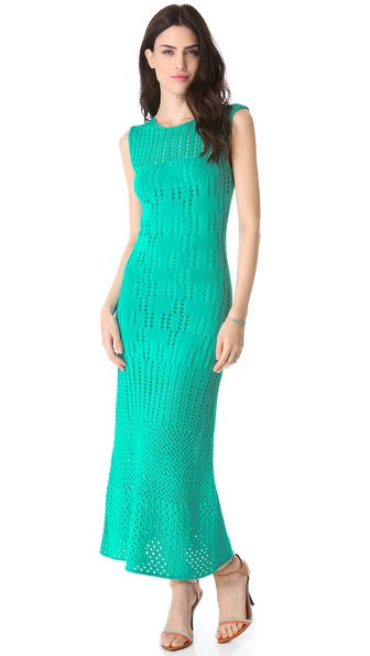 Catherine Malandrino Crochet Dress