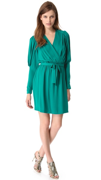 Catherine Malandrino Destiny Wrap Dress