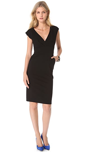 Catherine Malandrino Afina Ponte Dress